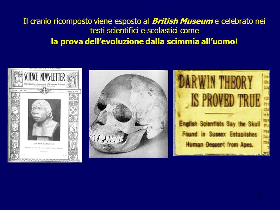la prova dell'evoluzione dalla scimmia all'uomo!