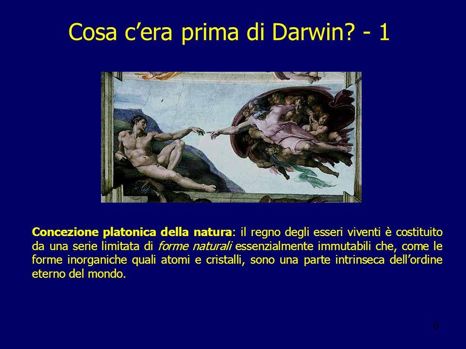 Cosa c'era prima di Darwin - 1