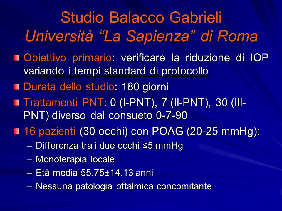 Studio Balacco Gabrieli Università La Sapienza di Roma