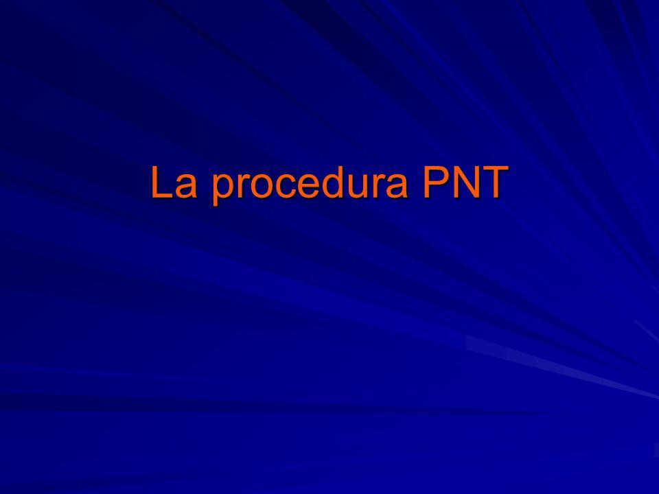 La procedura PNT