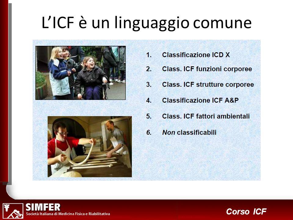 L'ICF è un linguaggio comune