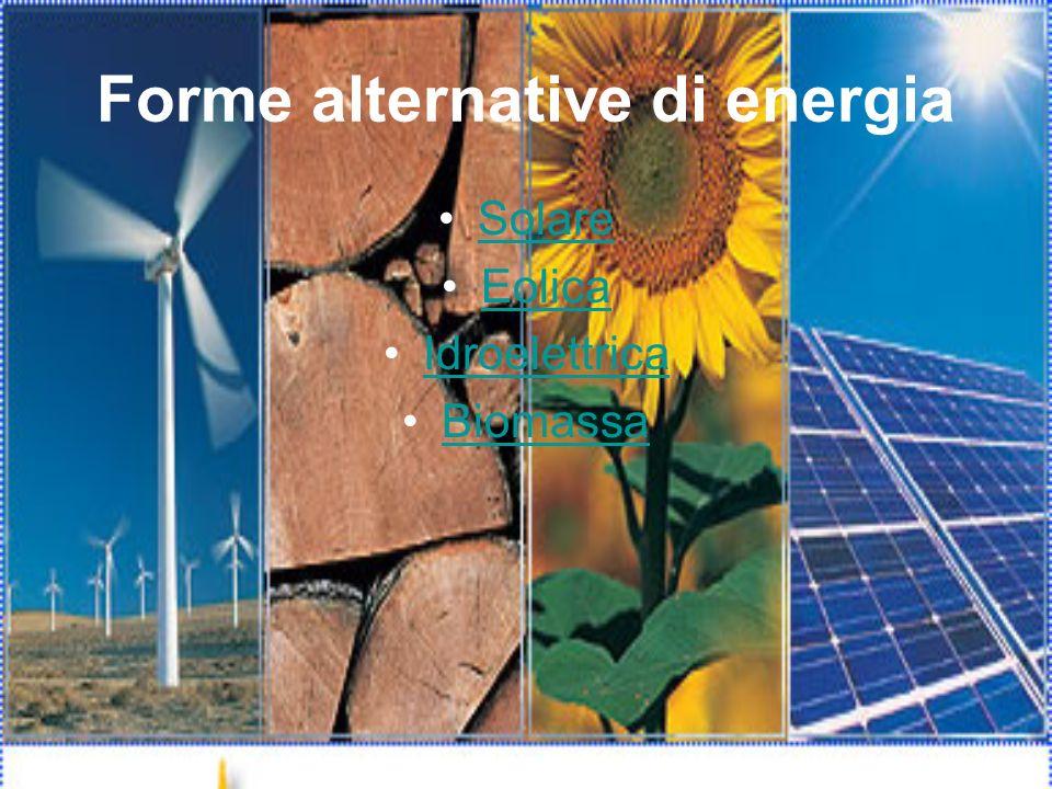 Forme alternative di energia