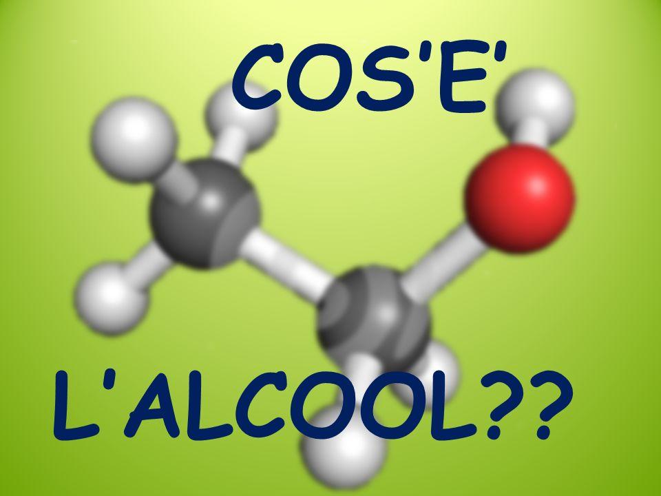 COS'E' L'ALCOOL