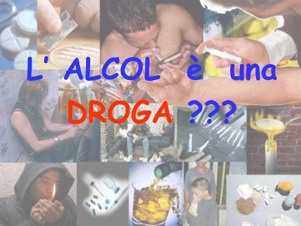 L' ALCOL è una DROGA