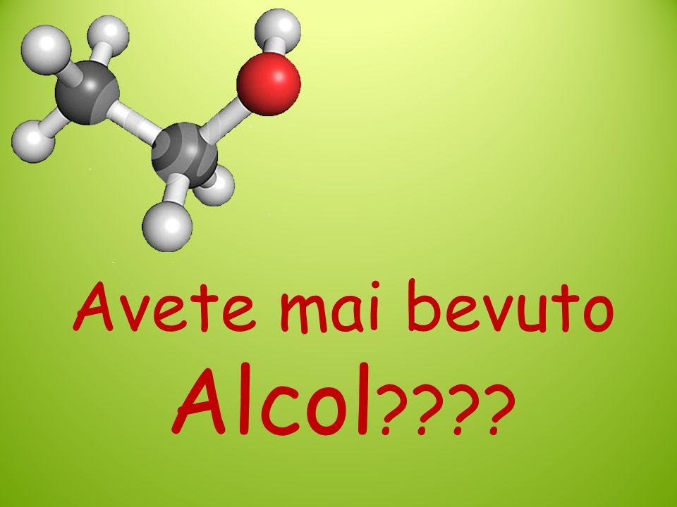 Avete mai bevuto Alcol
