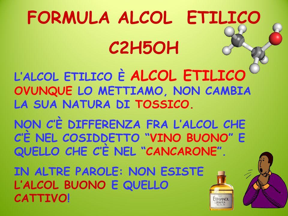 FORMULA ALCOL ETILICO C2H5OH