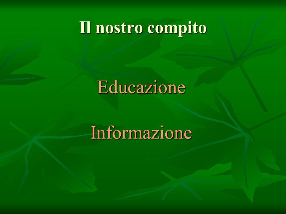Educazione Informazione