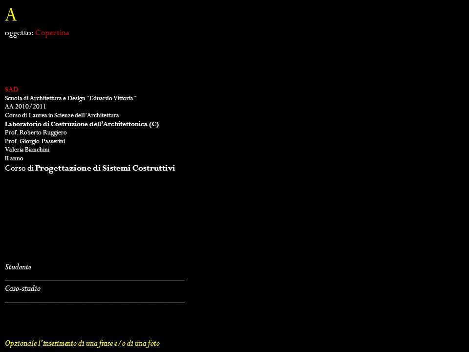 A oggetto: Copertina Corso di Progettazione di Sistemi Costruttivi