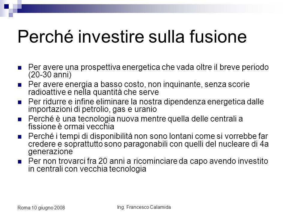 Perché investire sulla fusione