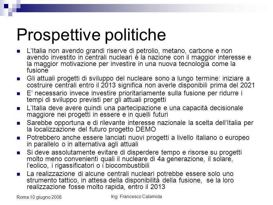 Prospettive politiche