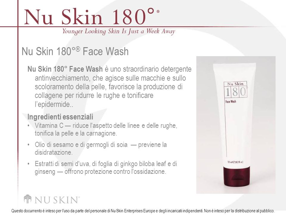 Nu Skin 180°® Face Wash
