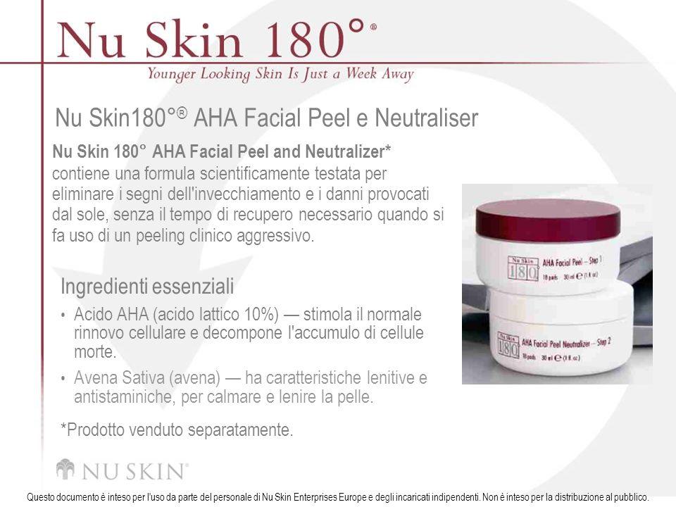 Nu Skin180°® AHA Facial Peel e Neutraliser