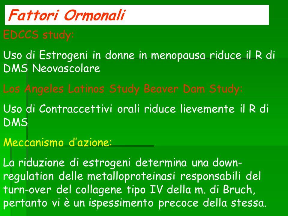 Fattori Ormonali EDCCS study: