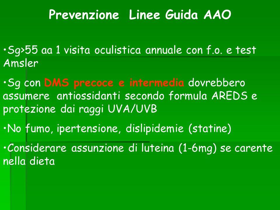 Prevenzione Linee Guida AAO