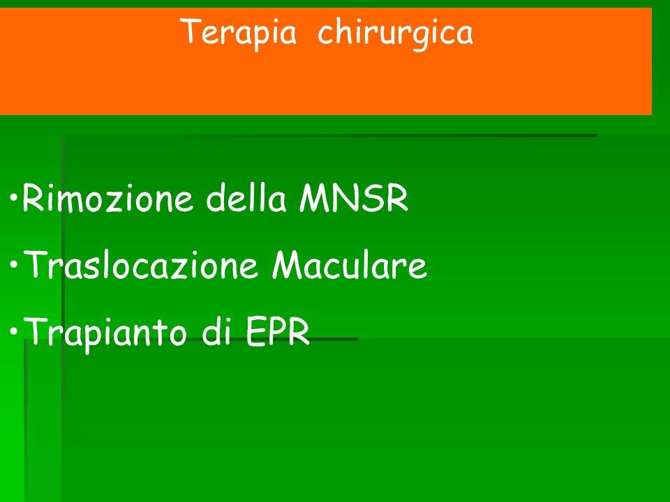 Traslocazione Maculare Trapianto di EPR