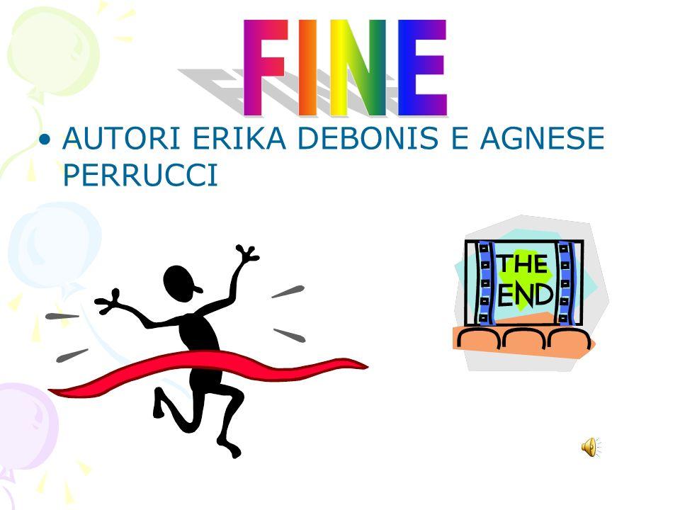 FINE AUTORI ERIKA DEBONIS E AGNESE PERRUCCI