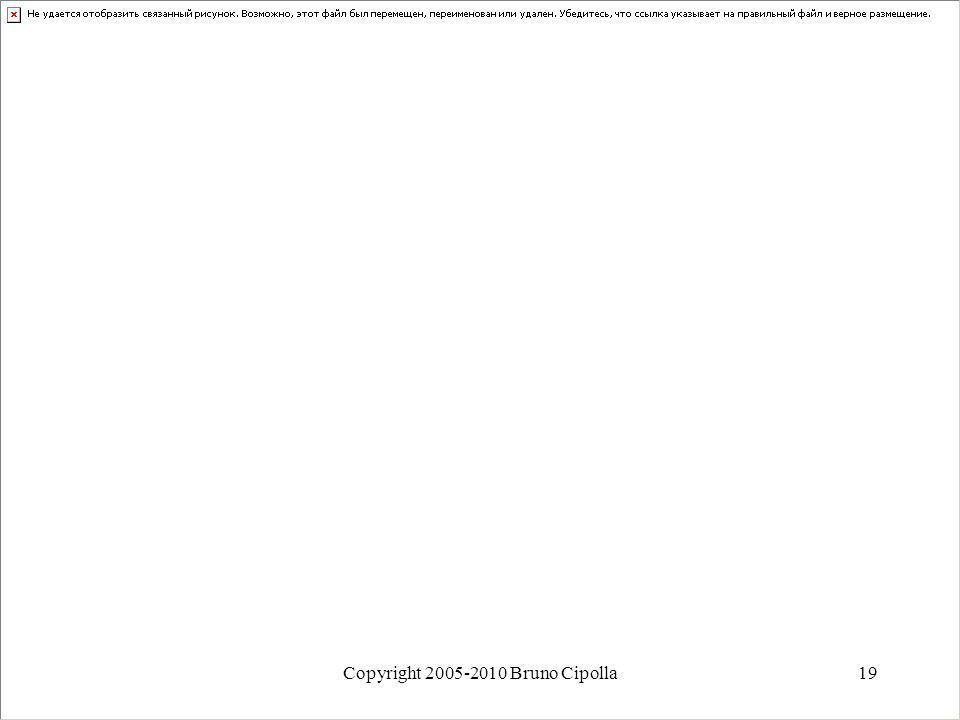 Copyright 2005-2010 Bruno Cipolla