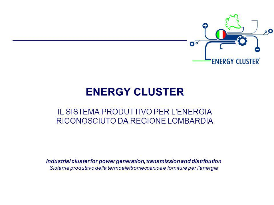 Industrial cluster for power generation, transmission and distribution