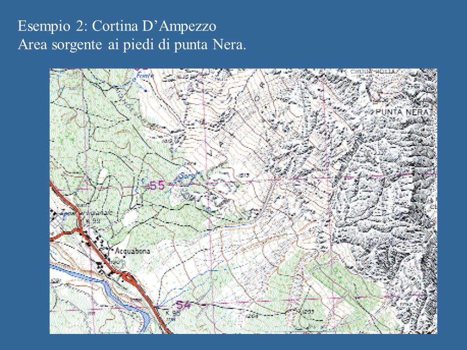 Esempio 2: Cortina D'Ampezzo