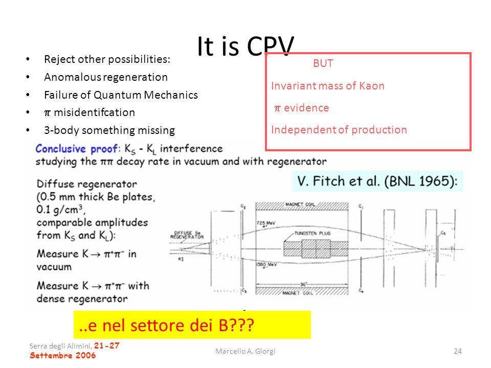 It is CPV ..e nel settore dei B Reject other possibilities: BUT