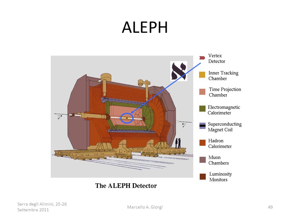 ALEPH An experiment is like an onion – many layers