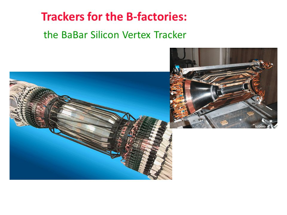 Trackers for the B-factories: