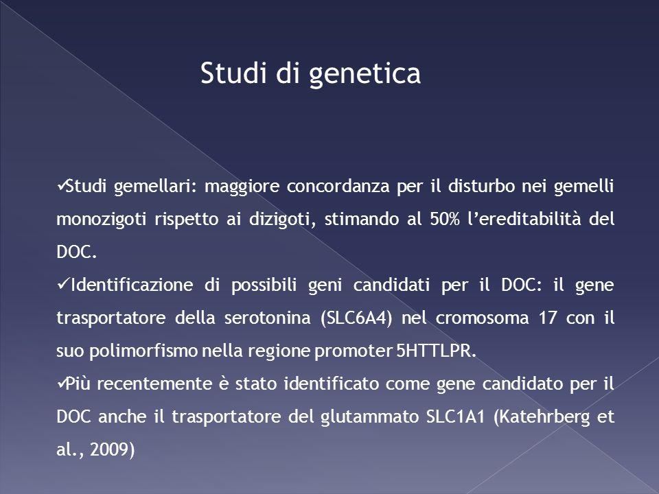 Studi di genetica