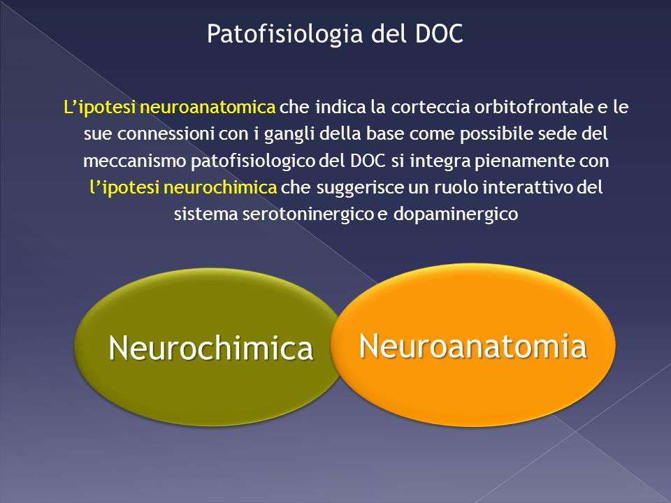 Patofisiologia del DOC