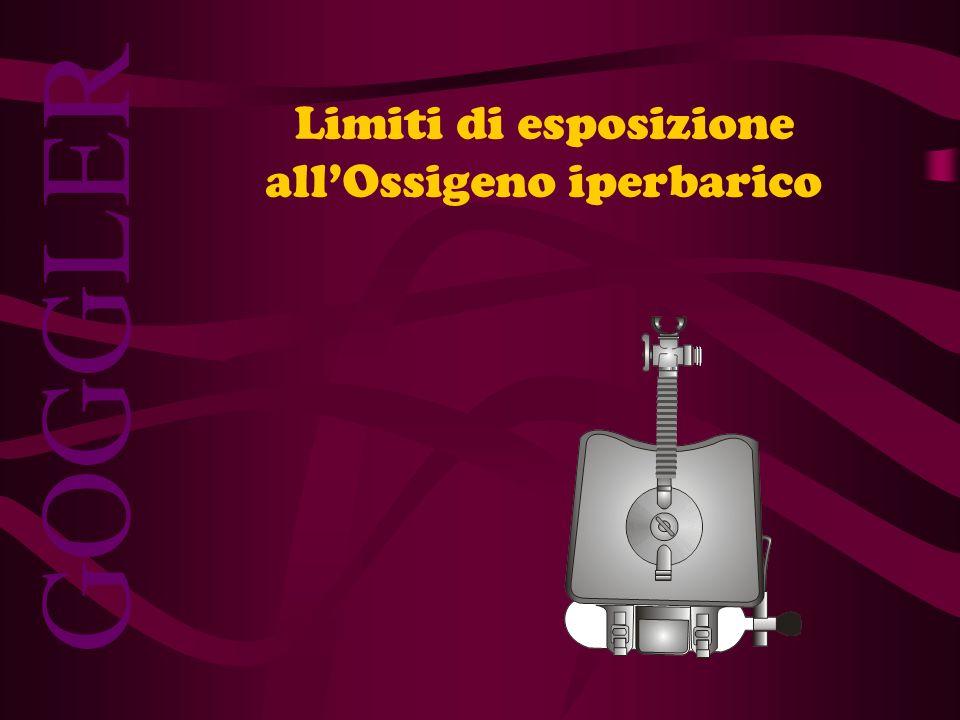 Limiti di esposizione all'Ossigeno iperbarico