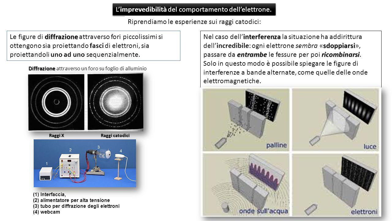 L'imprevedibilità del comportamento dell'elettrone.