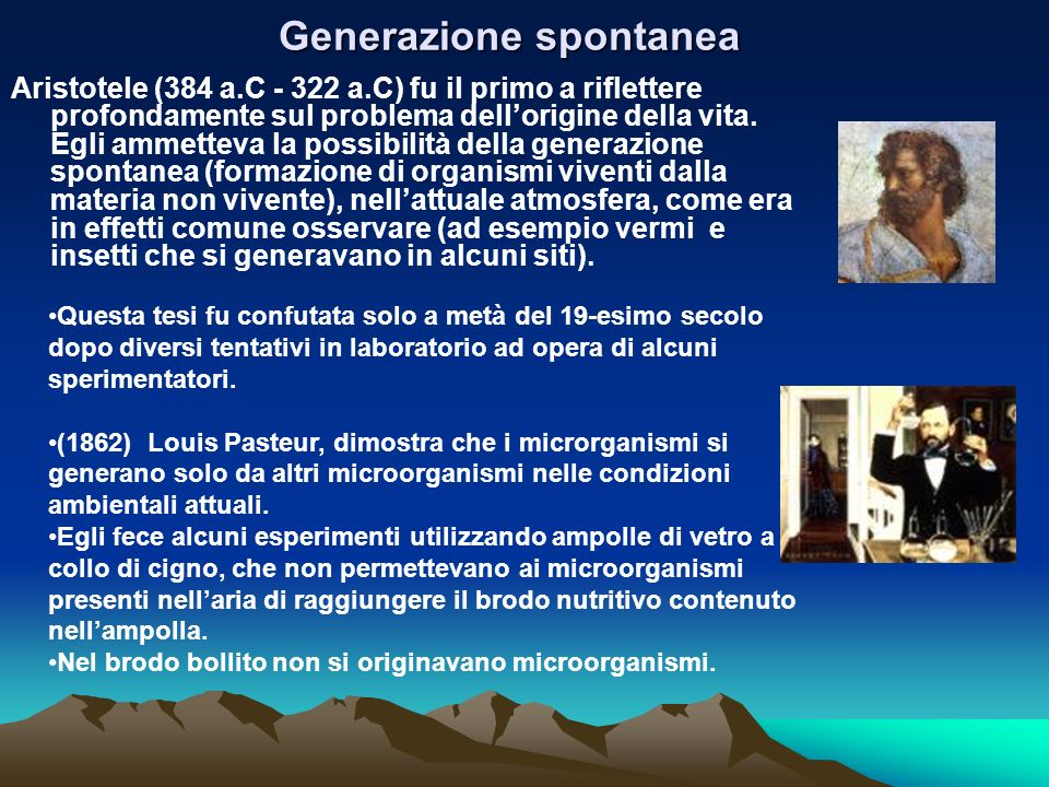 Generazione spontanea