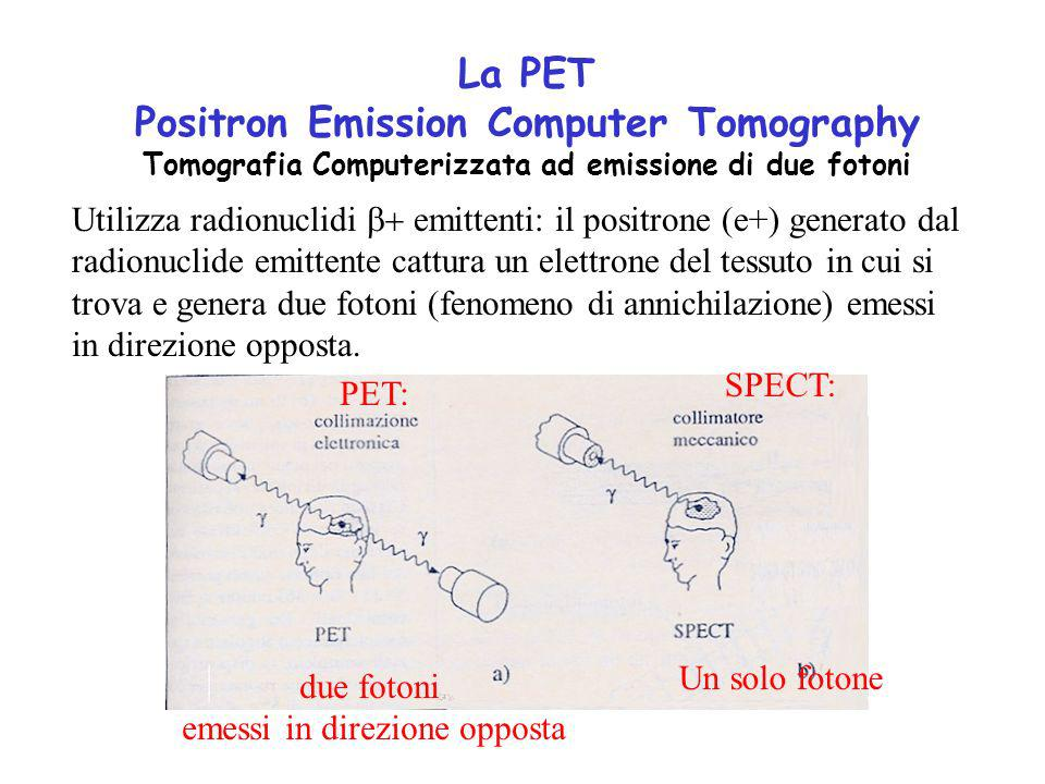 La PET Positron Emission Computer Tomography