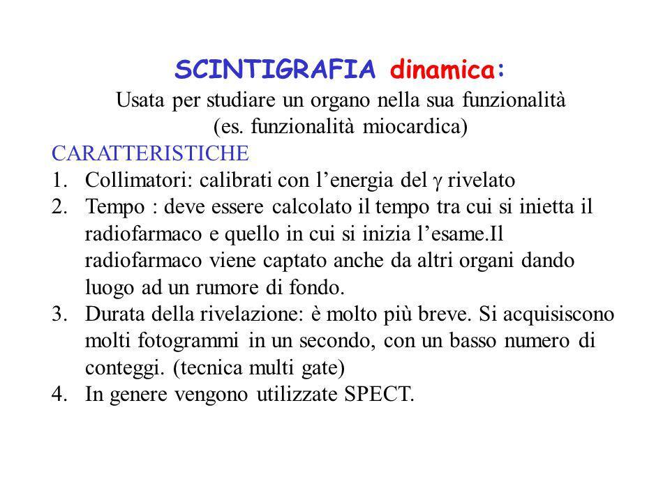SCINTIGRAFIA dinamica: