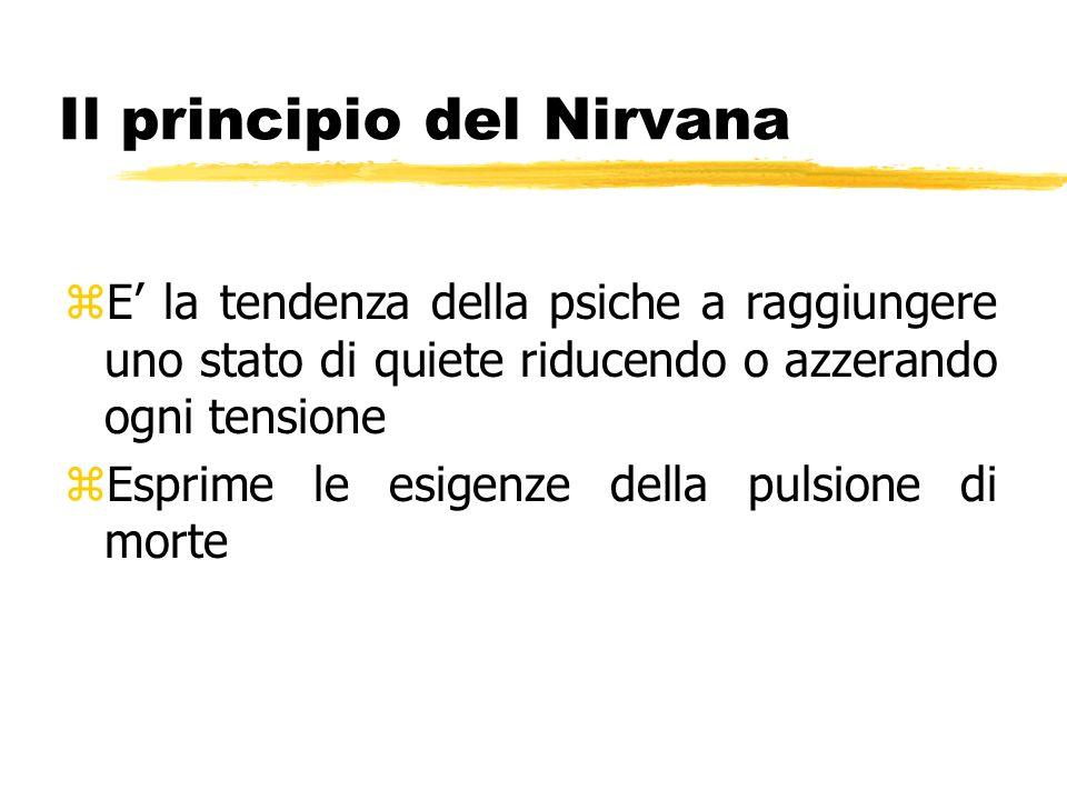 Il principio del Nirvana