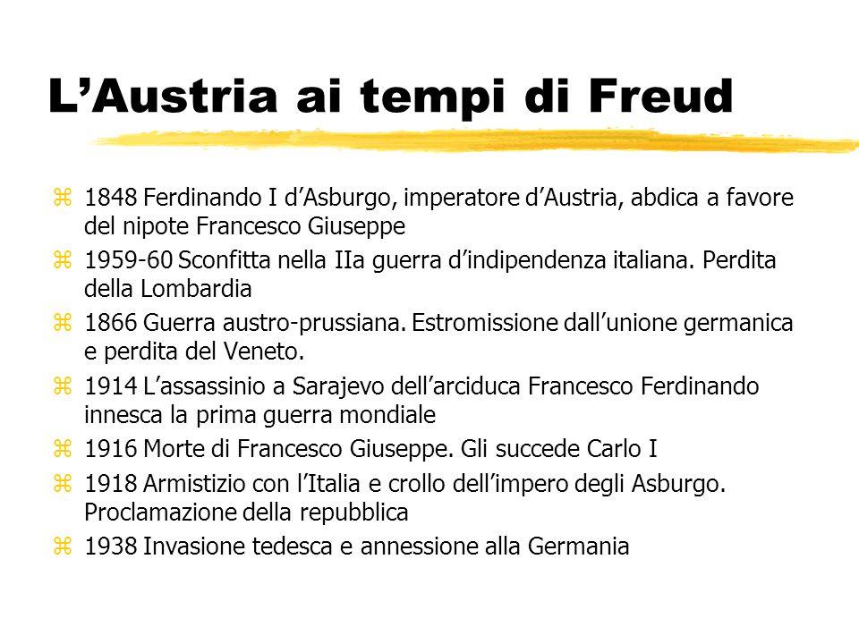L'Austria ai tempi di Freud