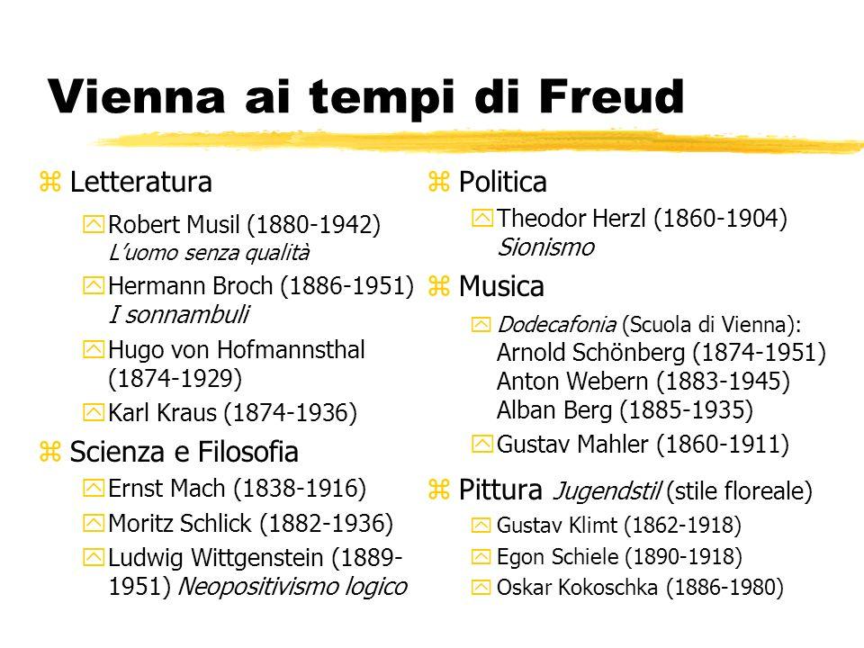 Vienna ai tempi di Freud