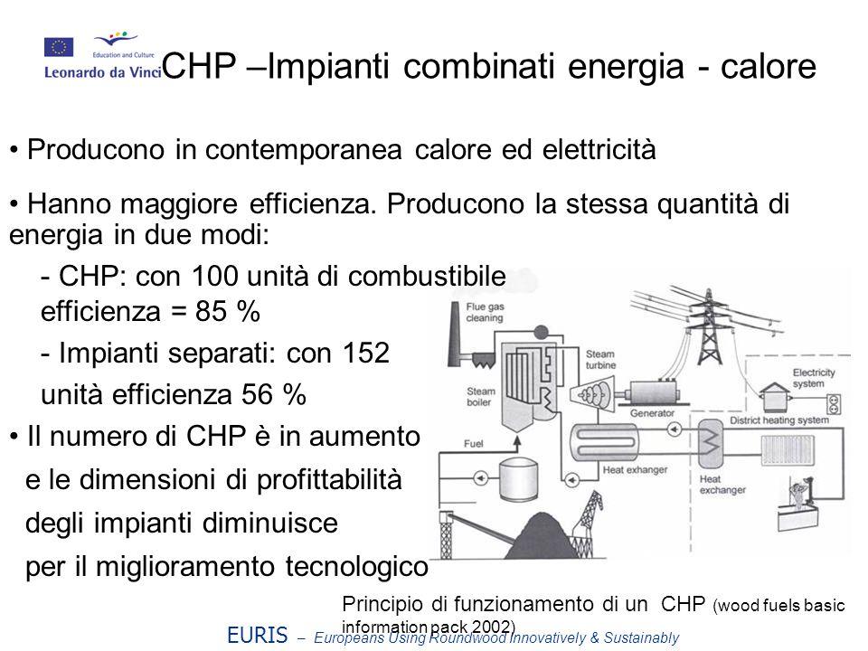 CHP –Impianti combinati energia - calore