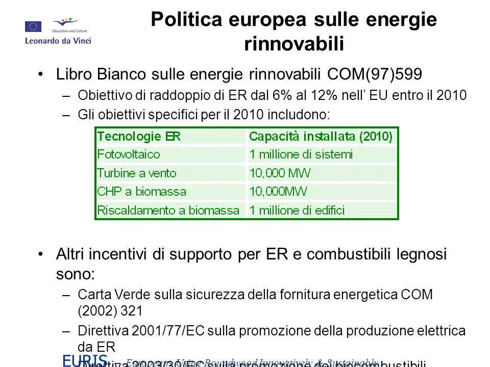 Politica europea sulle energie rinnovabili