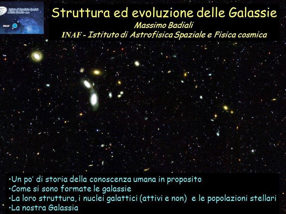 Struttura ed evoluzione delle Galassie