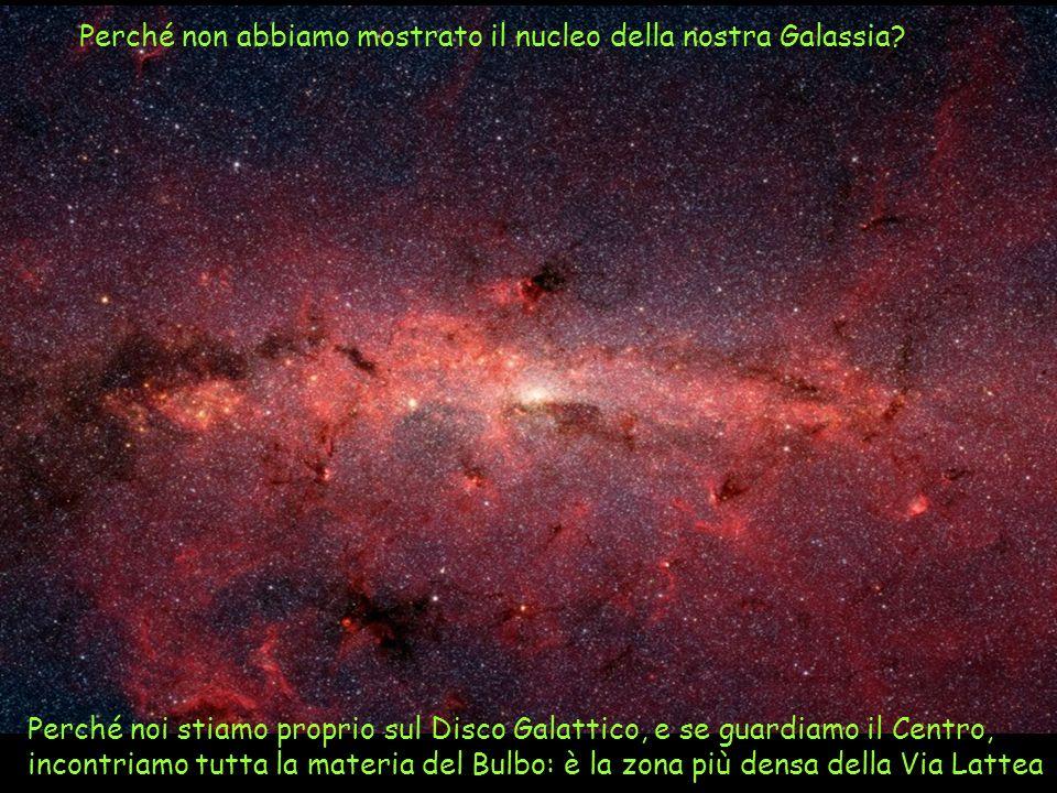 Perché non abbiamo mostrato il nucleo della nostra Galassia