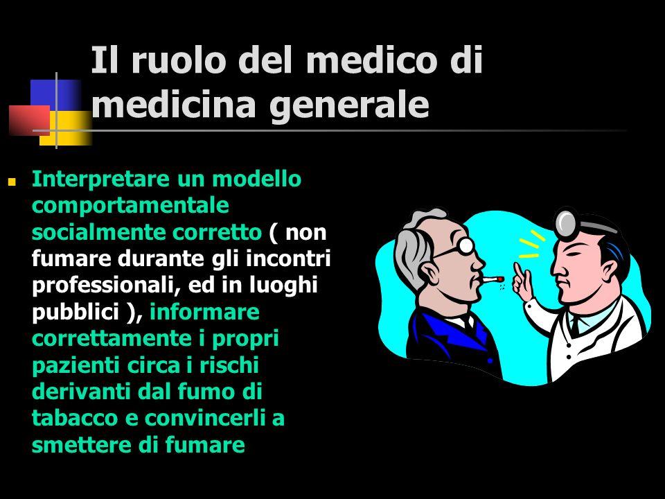 Il ruolo del medico di medicina generale