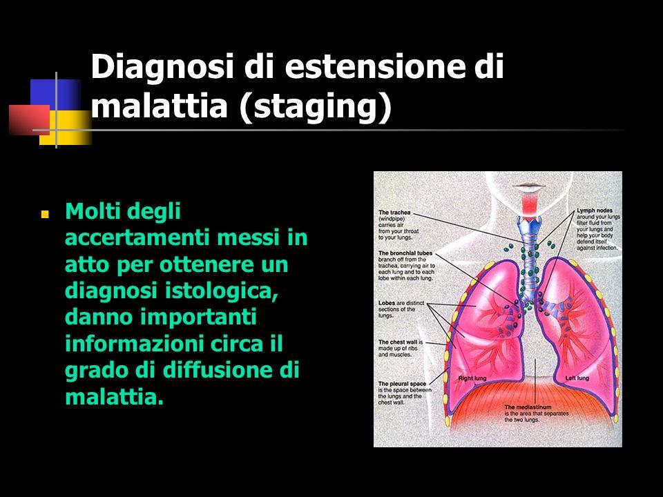 Diagnosi di estensione di malattia (staging)