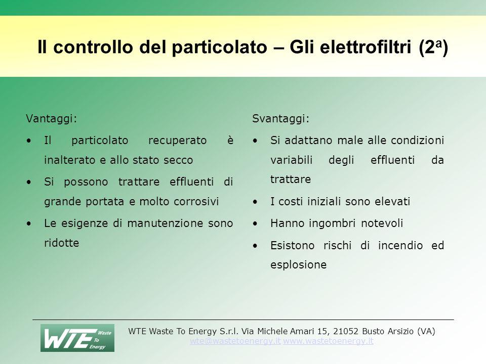 Il controllo del particolato – Gli elettrofiltri (2a)