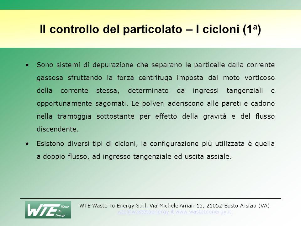 Il controllo del particolato – I cicloni (1a)