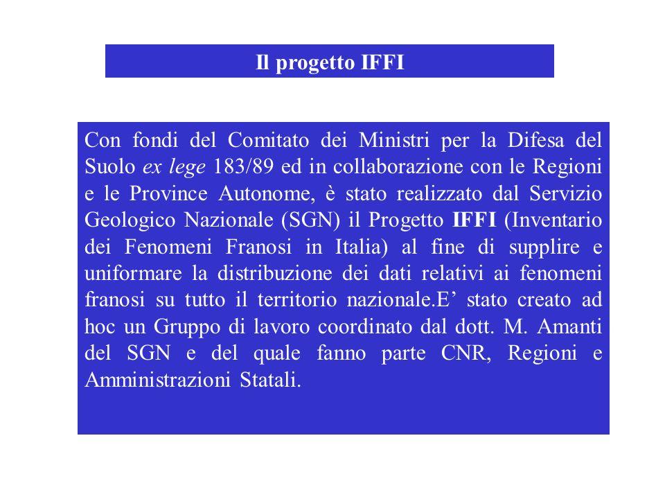 Il progetto IFFI