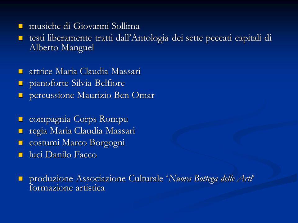 musiche di Giovanni Sollima