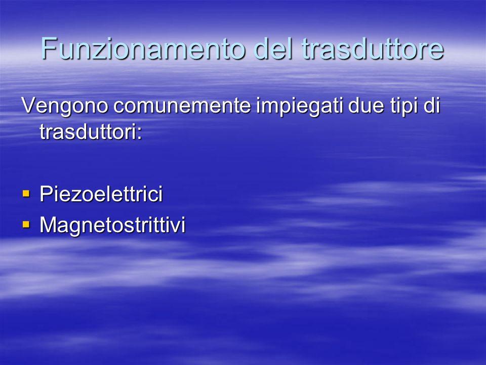Funzionamento del trasduttore