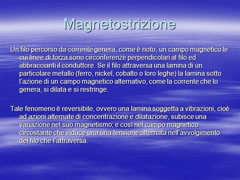 Magnetostrizione