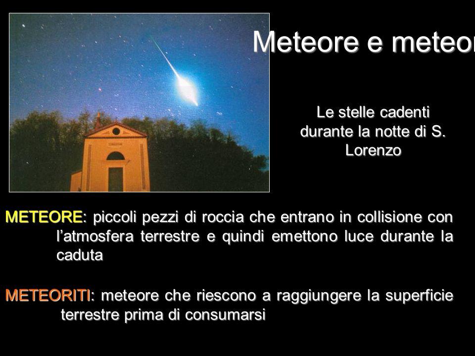 Le stelle cadenti durante la notte di S. Lorenzo