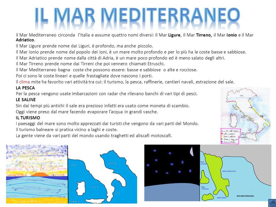 Il Mar mediterraneo